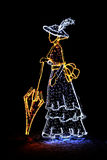 Dame Of Light Stockbilder