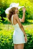 Dame op Vakantie Royalty-vrije Stock Foto's