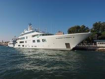 Dame S yatch in Venetië Royalty-vrije Stock Fotografie