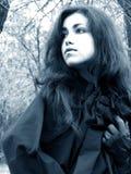 Dame van het hout #2 royalty-vrije stock foto's