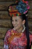 Dame van Mosuo, China stock afbeeldingen