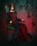Dame Vlada Portrait stock illustratie