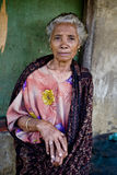 Dame von der Insel Flores Lizenzfreie Stockfotografie