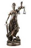 Dame von Gerechtigkeit Stockbilder