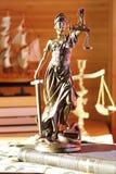 Dame von Gerechtigkeit Lizenzfreie Stockfotos