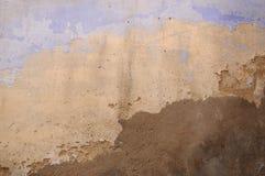 Damege ściana w domowej wiosce zdjęcie royalty free