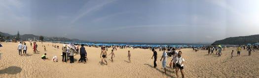 Dameisha海滩 库存照片