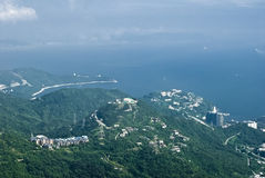Dameisha view. On a sunny day in daxiagu OCT east shenzhen guangdong china asia Royalty Free Stock Photos