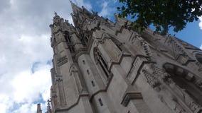 DameLaeken kerk Stock Afbeeldingen