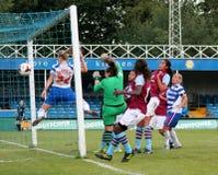 Damen der Lesungsfc Frauen-V Aston Villa stockfotografie