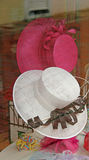 Damen-elegante Hüte stockfoto