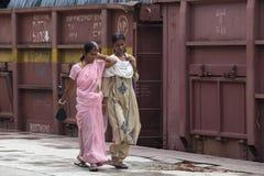 Damen Indien Lizenzfreie Stockbilder