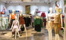Damen-Mode-Mannequin Lizenzfreies Stockbild