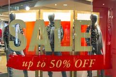Damen-Mode-Verkauf Lizenzfreie Stockfotos