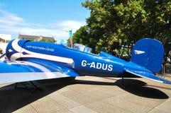 Damen Southern Cross var en Lockheed Altairmonoplan som ägdes av australierbanbrytareflygaren Sir Charles Kingsford Smith royaltyfria bilder