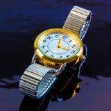 Damen-Uhr Stockbild