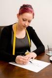 Damenschneiderin Lizenzfreies Stockfoto