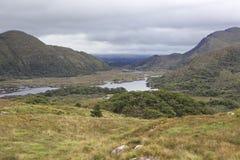 Damer beskådar i den Killarney nationalparken Royaltyfri Bild
