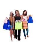 Dames avec des giftbags Image stock