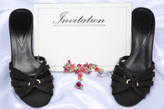 dames d'invitation Images stock