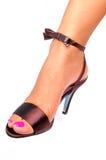 dames de chaussures Photographie stock libre de droits