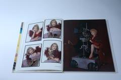 Dames: Vrouwen met Initiatief en Houding, Debbie Reynolds-portret stock foto's