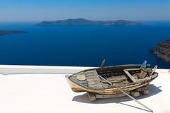 damged łódź kąt Zdjęcia Royalty Free