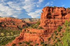 Damhirschkuh-Berg, Sedona, Arizona stockbilder