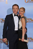 Damian Lewis, Claire Danes. Claire Danes & Damian Lewis at the 69th Golden Globe Awards at the Beverly Hilton Hotel. January 15, 2012 Beverly Hills, CA Picture royalty free stock photography