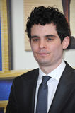 Damien Chazelle. LOS ANGELES, CA - FEBRUARY 14, 2015: Damien Chazelle. writer/director of Whiplash, at the 2015 Writers Guild Awards at the Hyatt Regency Century Royalty Free Stock Photo
