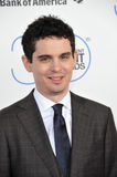 Damien Chazelle. SANTA MONICA, CA - FEBRUARY 21, 2015: Damien Chazelle at the 30th Annual Film Independent Spirit Awards on the beach in Santa Monica Royalty Free Stock Image