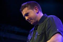 Damien Dempsey на Bowery бальном зале Стоковая Фотография