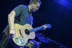 Damien Dempsey at Bowery Ballroom Royalty Free Stock Image