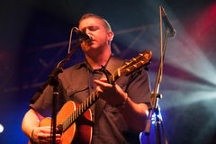 Damien Dempsey with the Clew Bay Pipe Band(4) Royalty Free Stock Image