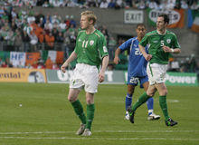 Damien Duff Royalty Free Stock Photography