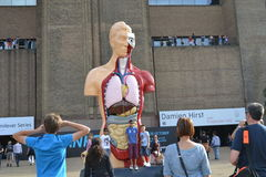Damien Hirst Sculpture Hymn Tate Modern Royalty Free Stock Photo