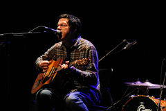 Damien Jurado performs at Barcelona Royalty Free Stock Image