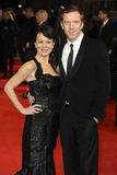Damien Lewis. Helen McRory and Damien Lewis arriving for the Hugo Royal Gala Premiere at the Odeon Leicester square, London. 28/11/2011 Picture by: Alexandra Stock Images