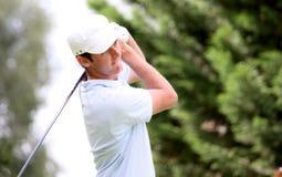 Damien Perrier a golf Prevens Trpohee 2009 Fotografia Stock Libera da Diritti