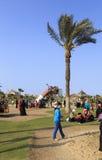 DAMIETTA, EGYPT - APRIL 4, 2015: children play on gardens celebr Royalty Free Stock Photography