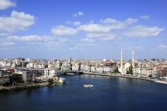 Damietta town north of Egypt. On Mediterranean Sea Royalty Free Stock Image