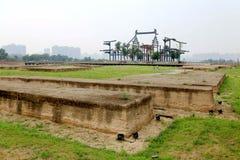 Daming Palace Ruins Park Royaltyfri Bild