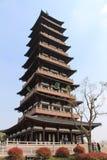 daming tempel Arkivbilder