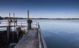 Damm av Dubnany Royaltyfri Bild