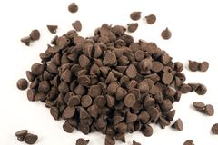Damm der Schokolade stockfotografie