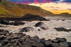 Damm des Riesen, Nordirland Lizenzfreie Stockfotografie