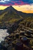 Damm des Riesen, Nordirland Lizenzfreies Stockfoto