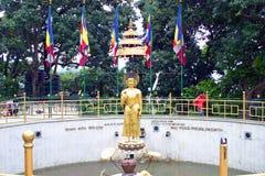 Damm för världsfred, Katmandu, Nepal Arkivfoto