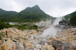 Damm Hakone. royaltyfri fotografi