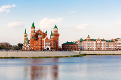 Damm im Yoshkar-Ola Russland Stockfoto